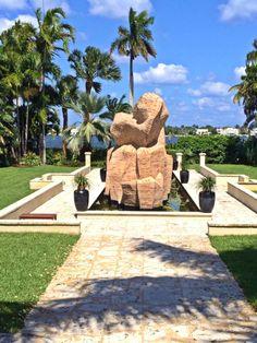 Detail On Cluster Ann Norton Sculpture Gardens West