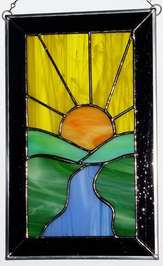 arts and crafts stained glass patterns free Stained Glass Paint, Stained Glass Flowers, Stained Glass Suncatchers, Stained Glass Crafts, Stained Glass Panels, Stained Glass Patterns Free, Stained Glass Designs, Glass Painting Patterns, Mosaic Art