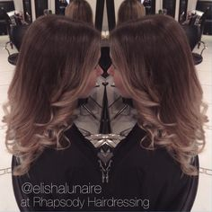 """Elisha Lunaire on Instagram: """"I love it when a client comes in with virgin hair!! Here is a #nobleach colourmelt balayage I created on the wonderful @thea_chandler ✨ #hair #ombré #balayage #colourmelt #paintedhair #hairblend #blonde #creativecolour #curls #creativestyling #mermaidhair #theunicorntribe #hairbesties #allaboutdahair #rhapsodyhair #hairdressinglife #salonlife #behindthechair #hairbyelisha"""""""