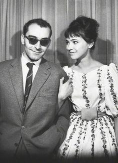 Jean-Luc Godard & Anna Karina-Berlin International Film Festival (1961)