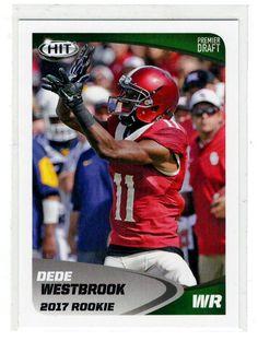 Sports Cards Football – 2017 Sage HIT Rookie Dede Westbrook – 2 Card Lot