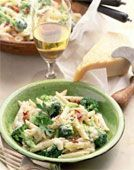This is a 'Big Batch' Recipe for Pasta Primavera with Alfredo Sauce. It makes 16 1.5Cup servings and can be frozen as individual servings.. via @SparkPeople