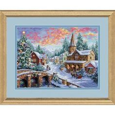 Holiday Village, Counted Cross Stitch_08783