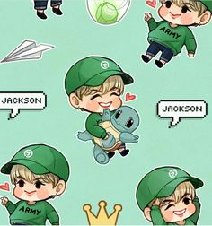 Mark Jackson, Jackson Wang, Got7 Jackson, Got7 Fanart, Kpop Fanart, Yugyeom, Youngjae, Got7 Logo, Jinyoung