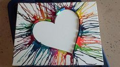 Cute I haven't seen it turned this way before! Cute I haven't seen it turned this way before! The post crayon art. Cute I haven't seen it turned this way before! appeared first on Knutselen ideeën. Cute Crafts, Crafts To Do, Crafts For Kids, Arts And Crafts, Diy Crafts, Creation Art, Ideias Diy, Simple Art, Art Plastique