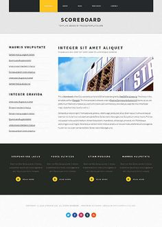A Carefully Crafted Free Website Template Psd For A Corporation