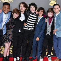 The Cast of It Attends the MTV Movie and TV Awards Without Any Clowns, Thank God