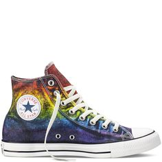 Converse - Chuck Taylor All Star Pride - Red/Yellow/Purple -  Hi Top AWESOME I WANT A PAIR!!!!
