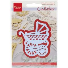 These exclusive, universally compatible, wafer-thin dies are designed to cut a wide variety of materials and will inspire you to create cute crafts! Choose from an assortment of cute styles and patterns, and adorn all your projects with your creations! Fondant, Mr T, Baby Prams, Parchment Craft, People Shopping, Exploding Boxes, Layout, Baby Carriage, Marianne Design