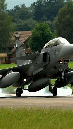 Royal Swedish Air Force JAS-39D Gripen