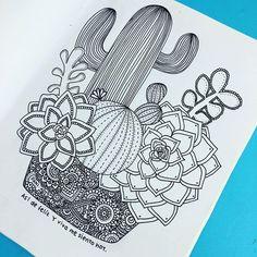 pin by mariangel bracho on dani hoyos art doodles Dibujos Zentangle Art, Zentangle Drawings, Zentangle Patterns, Doodle Drawings, Easy Drawings, Zentangles, Doodle Art, Zentangle Art Ideas, Mandala Art