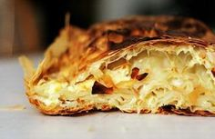 One of my fav salty Serbian treats - Gibanica!  Although this recipe is missing a big part...feta!