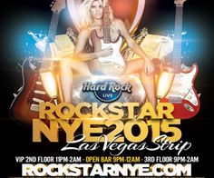http://www.listfree.org/134682-rockstar-nye-2015-hard-rock-live-las-vegas-strip.html Join the masses, ringing in 2015 in Sin City, and party like a true rock star at Hard Rock Live on the Las Vegas Strip! Trendsetters and fashionistas alike will take to the dance floor for a high-energy night of EDM, Rock 'n Roll and hip-hop that's sure to be scandalous. It is what New Year's Eve should be! This is an adult-only-soiree (with an OPEN BAR from 9pm to 12am)