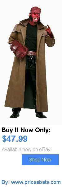 Men Costumes: New Movie Hellboy Superhero Adult Mens Halloween Fancy Dress Costume - Std BUY IT NOW ONLY: $47.99 #priceabateMenCostumes OR #priceabate