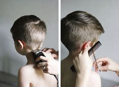 Boy hairstyle
