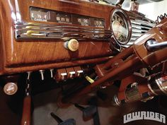 1947 Chevrolet Fleetline Aero. - Imitation woodgrain Painted steel.