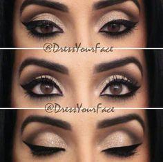 Brown Eyes, classic pinup eyes
