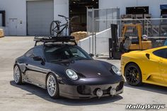 Rebel Rook 911 - Porsche 911 Carrera 4S Roof Racks - HRE Open House. #rallyways #porsche911 #porscheroofracks