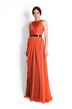 Lovely orange gown OP: 35 Stunning Evening Glamourous Gowns