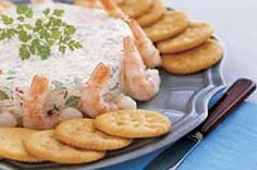 RITZ crackers pair nicely with this Shrimp Spread. Perfect for your next holiday party!