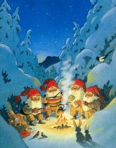 Norwegian christmas card