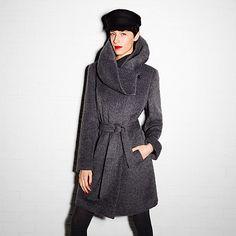 Cole Haan Suri Alapca Convertible Hooded Coat - www.colehaan.com