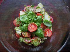 Sałatka z młodych ziemniaków z bazylią - healthy plan by ann