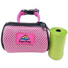 American River POOP BAG Holder - Pink Puppy Supplies, Designer Dog Clothes, Dog Items, Bag Holders, Dog Coats, Pink Candy, Dog Design, Cool Toys