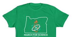 March for Science Portland - All proceeds support the March for Science Portland on April 22nd, 2017.   The March for Science is a celebration of science. It's not about scientists or politicians;...