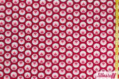 BioJersey+Stoff+'Tulip+Love'+rot+von+fab+store+auf+DaWanda.com