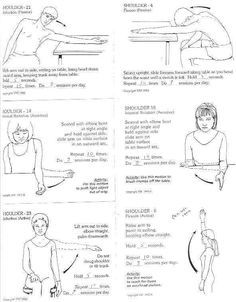 Physical Therapy Exercises for Bursitis | Post Op Week 3 stretching exercises