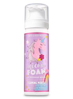 Hand Soap, Sanitizer & PocketBac - A Thousand Wishes Foaming Hand Sanitizer Pink Prosecco, Baby Doll Nursery, Bright Eye Makeup, Unicorn Makeup, Lush Bath, Kids Hands, Hand Sanitizer, Toys For Girls, Bath And Body Works