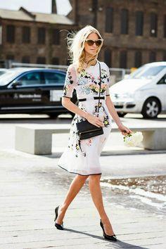 Fabulous Summer dress! Via Fashion for chic.