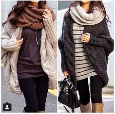 Big sweaters perfect for winter