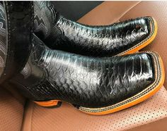 Western Wear, Western Boots, Your Shoes, Men's Shoes, Ostrich Boots, Cowboy Up, Brown Leather Ankle Boots, Cool Boots, Stylish Men