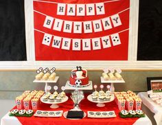 Manchester United 13th Birthday Party - Soccer
