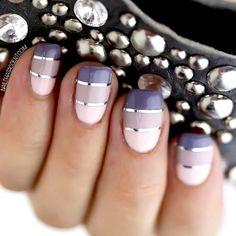 40 nail art lavande pour l'été - Les Éclaireuses