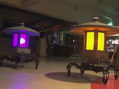 These Quadruped Robots Double as Japanese Garden Lamps - IEEE Spectrum To me they look like Glados minions