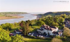 Mansion House Llansteffan Hotel - Carmarthen | Hotels | Britain's Finest Manson House, Carmarthen Bay, Mansions Homes, Short Break, Beautiful Hotels, Beach Walk, Stunning View, Historic Homes, Great View