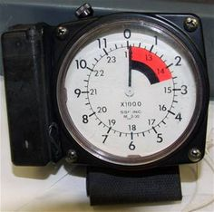 MA 2-30 Wrist Altimeter Indicator (Note: This item is currently in storage.)