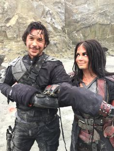 #the100 Octavia and Bellamy