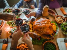 Best Wines for Thanksgiving Dinner | MyRecipes Best Wine For Thanksgiving, Thanksgiving Recipes, Thanksgiving Quotes, Thanksgiving Traditions, Thanksgiving Parade, Thanksgiving Cocktails, Thanksgiving Table, Christmas Recipes, Antipasto