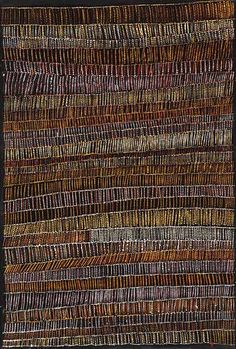 Ochre on linen, 120 x 80 cm. Munupi Arts and Craft - Pirlangimpi - Tiwi Islands Indigenous Australian Art, Indigenous Art, Aboriginal Painting, Dot Painting, Earth Colour Palette, Native Art, Tribal Art, Line Art, Didgeridoo