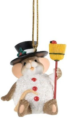 Enesco Charming Tails Snow Smile As Cheery As Yours Ornament, 2-Inch by Enesco, http://www.amazon.com/dp/B00BAF301A/ref=cm_sw_r_pi_dp_Quxasb1NBGFK8