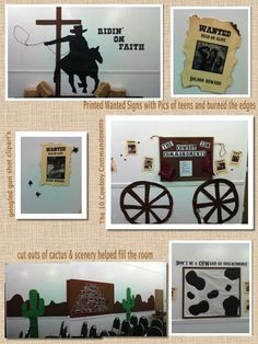 Fbc teen room  Western theme in the youth room