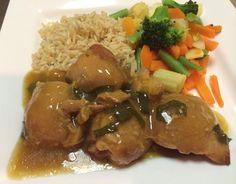 Oriental Orange Chicken  