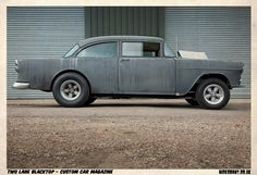 '55 Chevy from the movie Two Lane Blacktop...I love the radius  wheel wells.