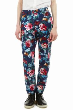 $$ - Wooyoungmi - Floral printed jeans
