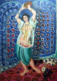 Henri Matisse - Odalisque au Tambourin, 1926