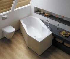 Hexagonal Baths For Small Bathrooms